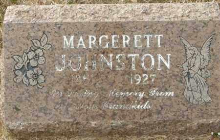 JOHNSTON, MARGERETT - McCurtain County, Oklahoma | MARGERETT JOHNSTON - Oklahoma Gravestone Photos