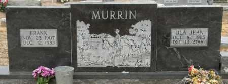 MURRIN, OLA JEAN - McCurtain County, Oklahoma   OLA JEAN MURRIN - Oklahoma Gravestone Photos