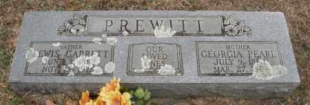 PREWITT, LEWIS GARRETT - McCurtain County, Oklahoma | LEWIS GARRETT PREWITT - Oklahoma Gravestone Photos