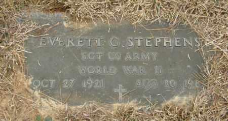 STEPHENS, EVERETT G. - McCurtain County, Oklahoma | EVERETT G. STEPHENS - Oklahoma Gravestone Photos