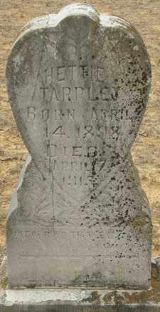 TARPLEY, HETTIE - McCurtain County, Oklahoma | HETTIE TARPLEY - Oklahoma Gravestone Photos