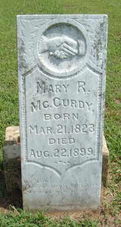 MCCURDY, MARY R. - McIntosh County, Oklahoma   MARY R. MCCURDY - Oklahoma Gravestone Photos