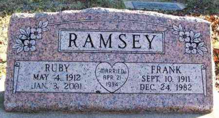 RAMSEY, RUBY - Murray County, Oklahoma | RUBY RAMSEY - Oklahoma Gravestone Photos