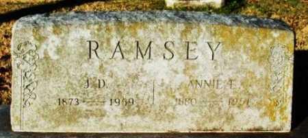RAMSEY, ANNIE E - Murray County, Oklahoma | ANNIE E RAMSEY - Oklahoma Gravestone Photos