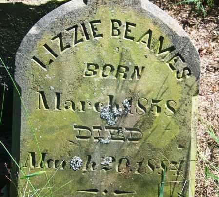 BEAMES, LIZZIE - Muskogee County, Oklahoma | LIZZIE BEAMES - Oklahoma Gravestone Photos