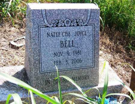 BELL, NATEE'CHE JOYCE - Muskogee County, Oklahoma | NATEE'CHE JOYCE BELL - Oklahoma Gravestone Photos