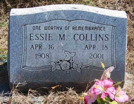 COLLINS, ESSIE M - Muskogee County, Oklahoma   ESSIE M COLLINS - Oklahoma Gravestone Photos
