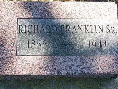 FRANKLIN, RICHARD - Muskogee County, Oklahoma | RICHARD FRANKLIN - Oklahoma Gravestone Photos