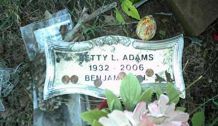 ADAMS, BETTY L. - Nowata County, Oklahoma | BETTY L. ADAMS - Oklahoma Gravestone Photos