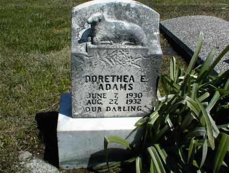 ADAMS, DORETHEA E. - Nowata County, Oklahoma | DORETHEA E. ADAMS - Oklahoma Gravestone Photos