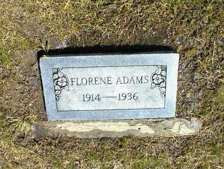 ADAMS, FLORENE - Nowata County, Oklahoma | FLORENE ADAMS - Oklahoma Gravestone Photos