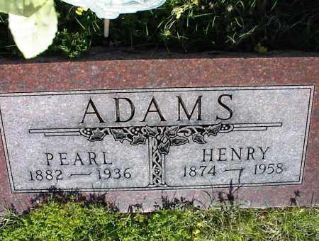 ADAMS, PEARL - Nowata County, Oklahoma | PEARL ADAMS - Oklahoma Gravestone Photos