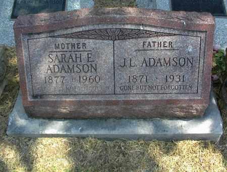 ADAMSON, SARAH E. - Nowata County, Oklahoma   SARAH E. ADAMSON - Oklahoma Gravestone Photos