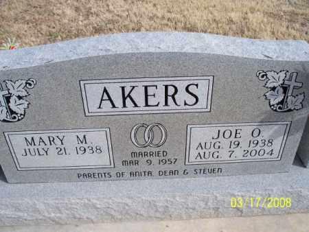 AKERS, JOE O. - Nowata County, Oklahoma | JOE O. AKERS - Oklahoma Gravestone Photos