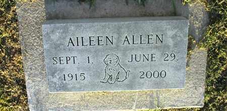 ALLEN, AILEEN - Nowata County, Oklahoma   AILEEN ALLEN - Oklahoma Gravestone Photos