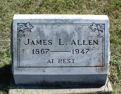 ALLEN, JAMES L. - Nowata County, Oklahoma | JAMES L. ALLEN - Oklahoma Gravestone Photos