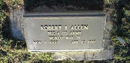 ALLEN, ROBERT I. - Nowata County, Oklahoma | ROBERT I. ALLEN - Oklahoma Gravestone Photos