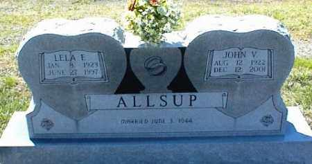 ALLSUP, JOHN V. - Nowata County, Oklahoma | JOHN V. ALLSUP - Oklahoma Gravestone Photos
