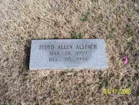 ALSPACH, FLOYD ALLEN - Nowata County, Oklahoma | FLOYD ALLEN ALSPACH - Oklahoma Gravestone Photos