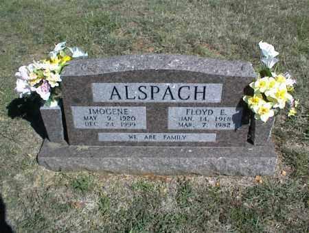 ALSPACH, FLOYD E. - Nowata County, Oklahoma   FLOYD E. ALSPACH - Oklahoma Gravestone Photos