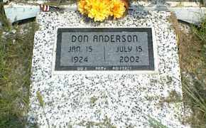 ANDERSON, DON - Nowata County, Oklahoma   DON ANDERSON - Oklahoma Gravestone Photos