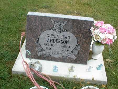 ANDERSON, GUYLA JEAN - Nowata County, Oklahoma | GUYLA JEAN ANDERSON - Oklahoma Gravestone Photos