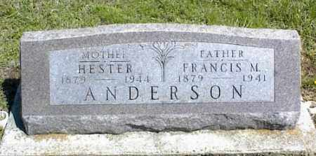 ANDERSON, HESTER - Nowata County, Oklahoma   HESTER ANDERSON - Oklahoma Gravestone Photos