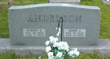 ANDERSON, ROBERT E. - Nowata County, Oklahoma | ROBERT E. ANDERSON - Oklahoma Gravestone Photos