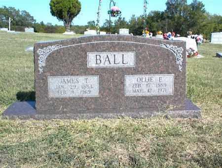 BALL, JAMES T. - Nowata County, Oklahoma | JAMES T. BALL - Oklahoma Gravestone Photos