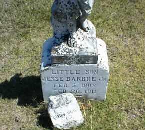 BARBRE, JESSE JR. - Nowata County, Oklahoma | JESSE JR. BARBRE - Oklahoma Gravestone Photos