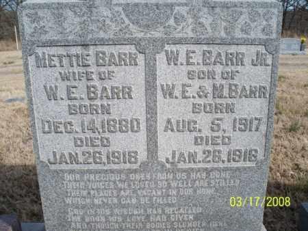 BARR, METTIE - Nowata County, Oklahoma | METTIE BARR - Oklahoma Gravestone Photos