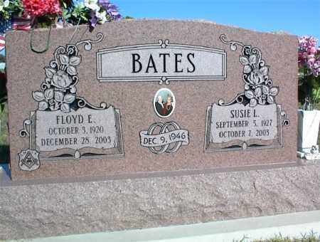 BATES, FLOYD E. - Nowata County, Oklahoma | FLOYD E. BATES - Oklahoma Gravestone Photos