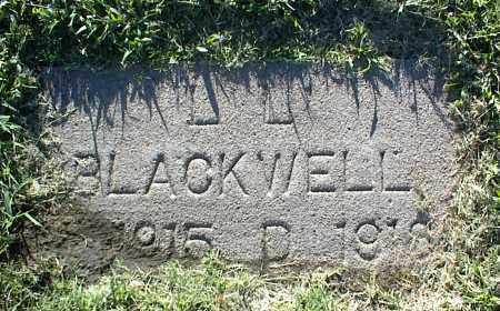 BLACKWELL, L. L. - Nowata County, Oklahoma | L. L. BLACKWELL - Oklahoma Gravestone Photos