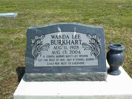 BURKHART, WANDA LEE - Nowata County, Oklahoma | WANDA LEE BURKHART - Oklahoma Gravestone Photos