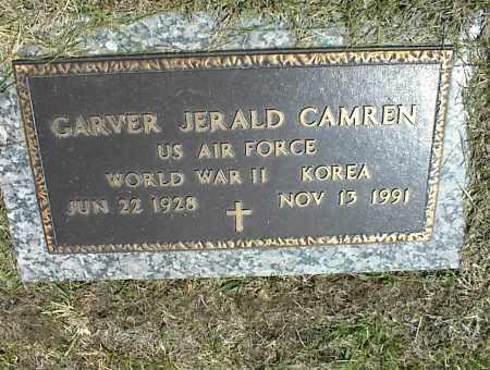 CAMREN (VETERAN 2WARS), GARVER JERALD - Nowata County, Oklahoma | GARVER JERALD CAMREN (VETERAN 2WARS) - Oklahoma Gravestone Photos