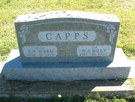 CAPPS, E. W. - Nowata County, Oklahoma | E. W. CAPPS - Oklahoma Gravestone Photos
