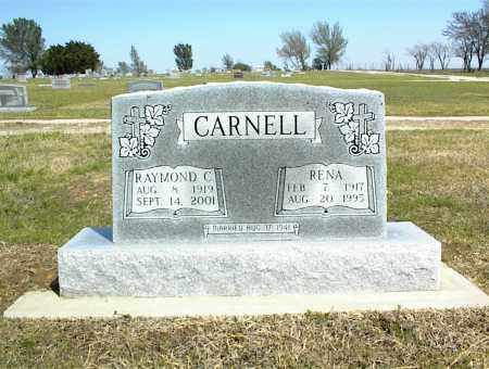 CARNELL, RENA - Nowata County, Oklahoma | RENA CARNELL - Oklahoma Gravestone Photos