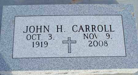 CARROLL, JOHN H. - Nowata County, Oklahoma   JOHN H. CARROLL - Oklahoma Gravestone Photos