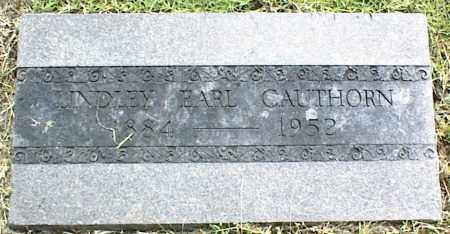CAUTHORN, LINDLEY EARL - Nowata County, Oklahoma | LINDLEY EARL CAUTHORN - Oklahoma Gravestone Photos