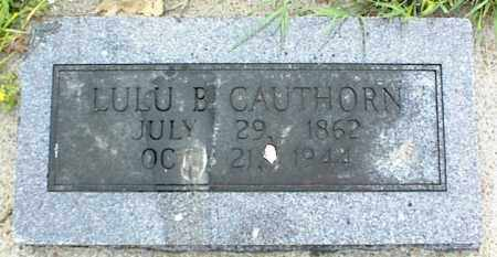CAUTHORN, LULU B. - Nowata County, Oklahoma | LULU B. CAUTHORN - Oklahoma Gravestone Photos