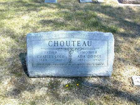 CHOUTEAU, CHARLES LOLO - Nowata County, Oklahoma | CHARLES LOLO CHOUTEAU - Oklahoma Gravestone Photos