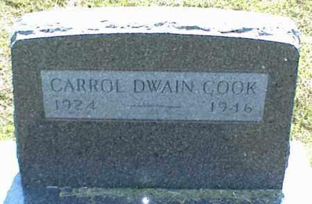 COOK, CARROL DWAIN - Nowata County, Oklahoma | CARROL DWAIN COOK - Oklahoma Gravestone Photos