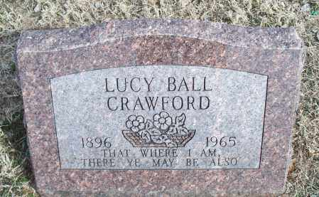 BALL CRAWFORD, LUCY - Nowata County, Oklahoma   LUCY BALL CRAWFORD - Oklahoma Gravestone Photos