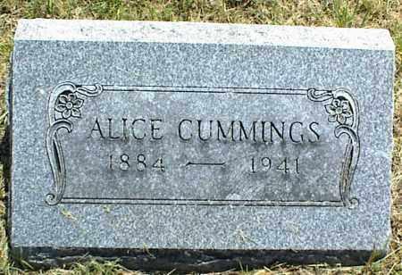 CUMMINGS, ALICE - Nowata County, Oklahoma | ALICE CUMMINGS - Oklahoma Gravestone Photos