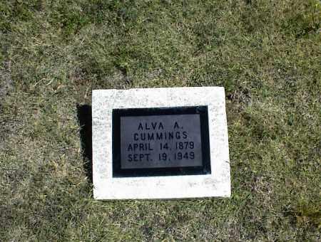 CUMMINGS, ALVA A. - Nowata County, Oklahoma   ALVA A. CUMMINGS - Oklahoma Gravestone Photos