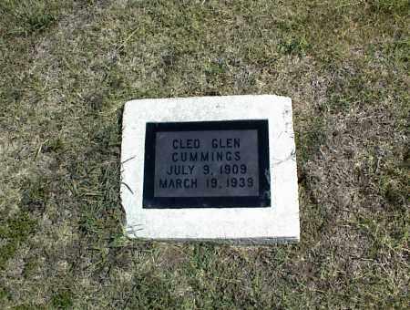 CUMMINGS, CLEO GLEN - Nowata County, Oklahoma | CLEO GLEN CUMMINGS - Oklahoma Gravestone Photos