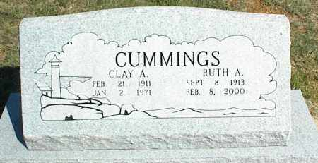 CUMMINGS, RUTH A. - Nowata County, Oklahoma | RUTH A. CUMMINGS - Oklahoma Gravestone Photos