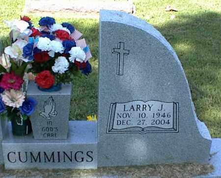 CUMMINGS, LARRY J. - Nowata County, Oklahoma | LARRY J. CUMMINGS - Oklahoma Gravestone Photos