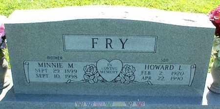 FRY, MINNIE M. - Nowata County, Oklahoma | MINNIE M. FRY - Oklahoma Gravestone Photos