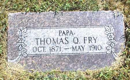 FRY, THOMAS Q. - Nowata County, Oklahoma | THOMAS Q. FRY - Oklahoma Gravestone Photos